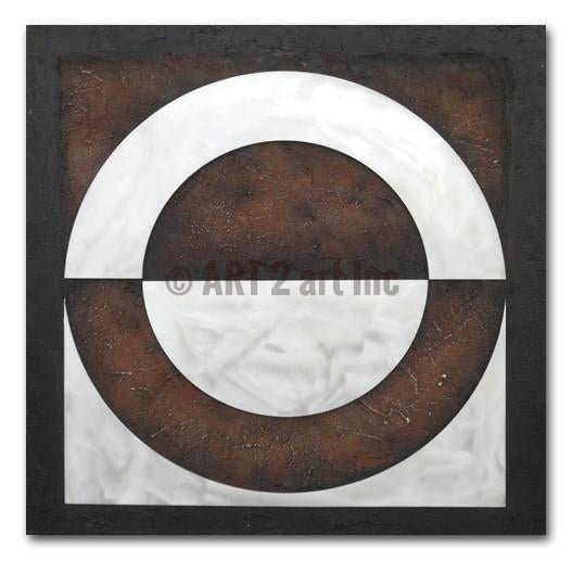 Reversable Circle - Painting On Canvas at INTERFRAME-ASIA
