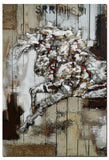 AB-3124 - Wooden Artwork at INTERFRAME-ASIA