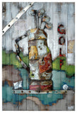 AB-3748 - Wooden Artwork at INTERFRAME-ASIA