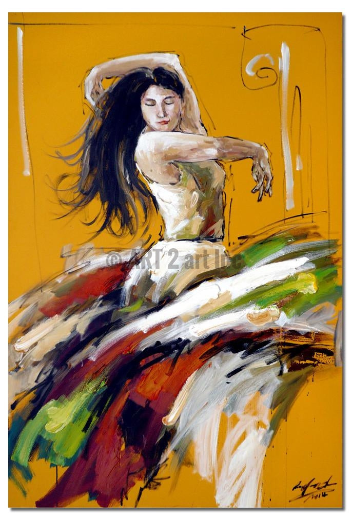 AB-3812 - Painting On Canvas at INTERFRAME-ASIA