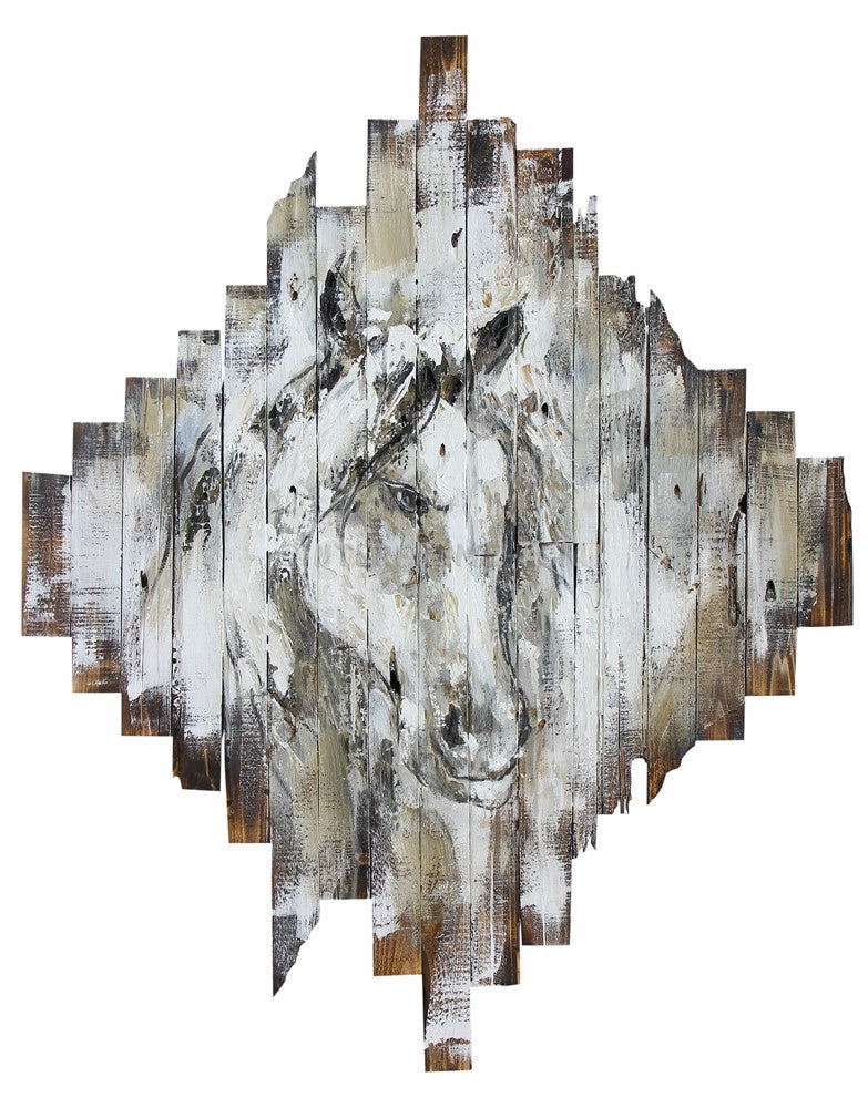 AB-4861 - Wooden Artwork at INTERFRAME-ASIA