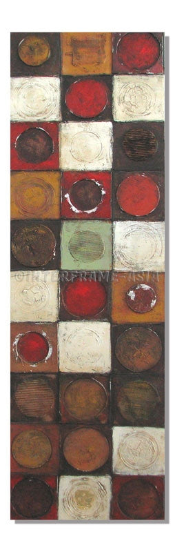 ABS-0056- - Wooden Artwork at INTERFRAME-ASIA