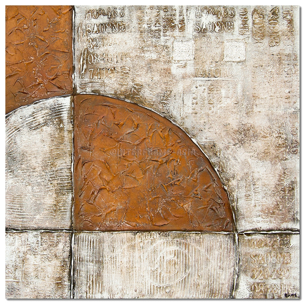 ABS-1475- - Wooden Artwork at INTERFRAME-ASIA