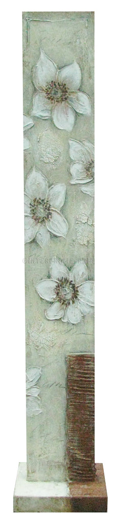 Flowers II - Art Stand - Wooden Artwork at INTERFRAME-ASIA