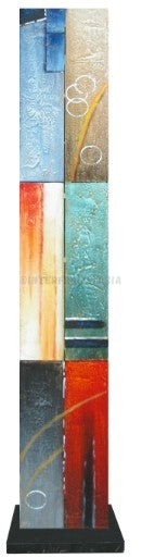 Abstract 20 - Art Stand - Wooden Artwork at INTERFRAME-ASIA