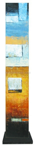 Abstract 24 - Art Stand - Wooden Artwork at INTERFRAME-ASIA