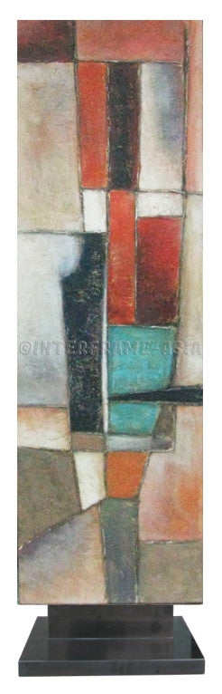 Abstract 26 - Art Stand - Wooden Artwork at INTERFRAME-ASIA