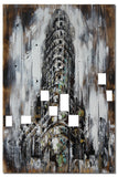 ABS-4915 - Wooden Artwork at INTERFRAME-ASIA