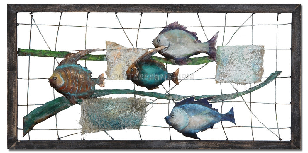 ABS-6051 - Wooden Artwork at INTERFRAME-ASIA