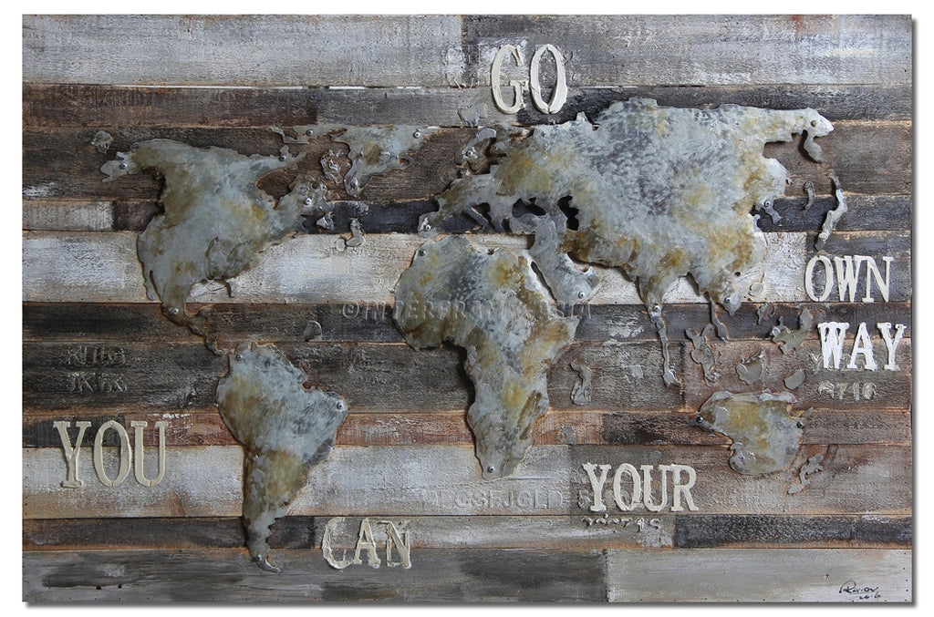 ABS-6062 - Wooden Artwork at INTERFRAME-ASIA