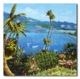Tropical - Painting On Canvas at INTERFRAME-ASIA