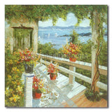 Long Porch - Painting On Canvas at INTERFRAME-ASIA
