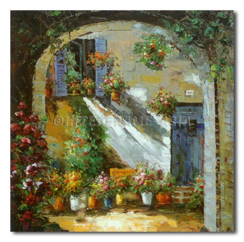 Made-up Garden - Painting On Canvas at INTERFRAME-ASIA