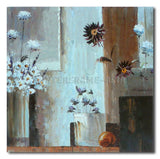VASES AND FLOWERS - Painting On Canvas at INTERFRAME-ASIA