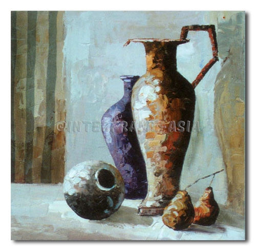 FRUITS AND JARS - Painting On Canvas at INTERFRAME-ASIA