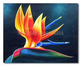 Orchid - Painting On Canvas at INTERFRAME-ASIA