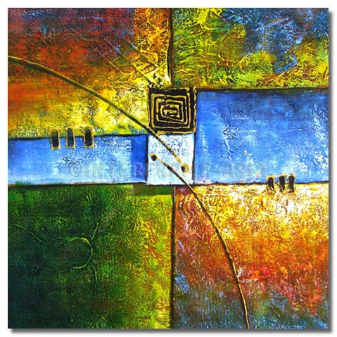 BE-016307 - Painting On Canvas at INTERFRAME-ASIA