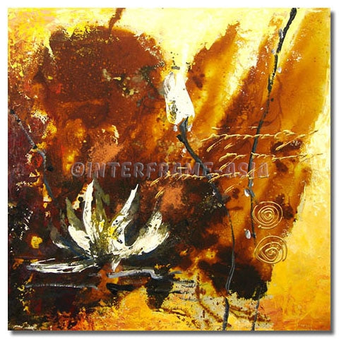 BE-023507 - Painting On Canvas at INTERFRAME-ASIA