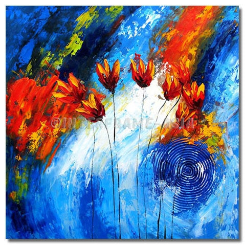 BI-0079B07 - Painting On Canvas at INTERFRAME-ASIA