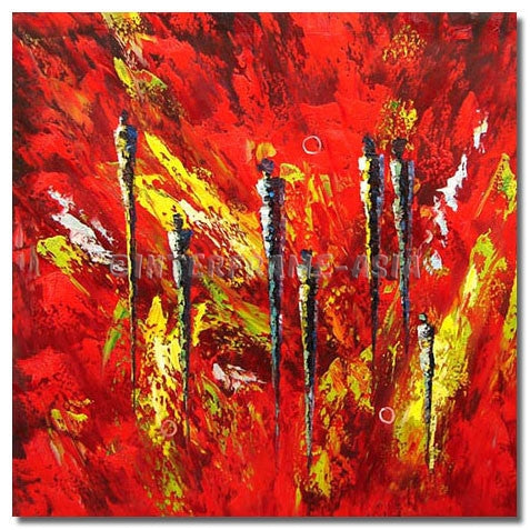 BI-0080A07 - Painting On Canvas at INTERFRAME-ASIA