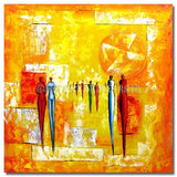 BI-008307 - Painting On Canvas at INTERFRAME-ASIA