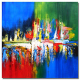 BI-0090B07 - Painting On Canvas at INTERFRAME-ASIA