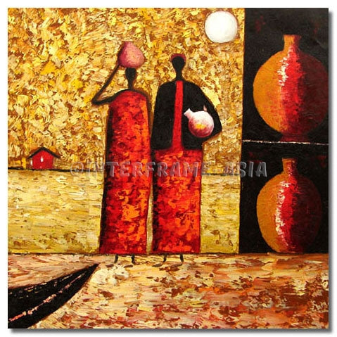 BI-0472A07 - Painting On Canvas at INTERFRAME-ASIA