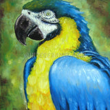 PARROT - Painting On Canvas at INTERFRAME-ASIA