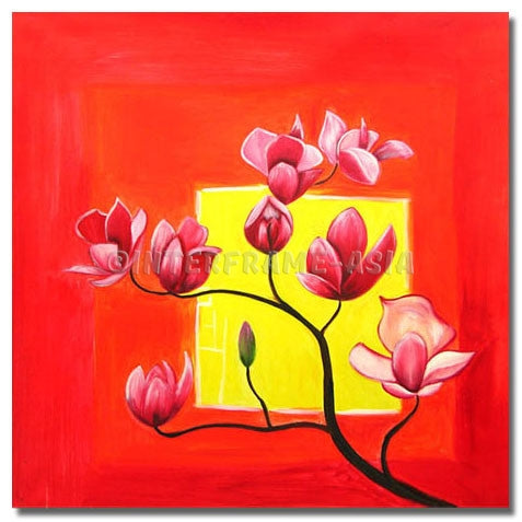 BI-072707B - Painting On Canvas at INTERFRAME-ASIA