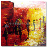 BI-107807 - Painting On Canvas at INTERFRAME-ASIA