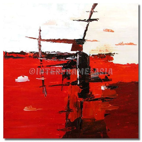 BI-212607 - Painting On Canvas at INTERFRAME-ASIA