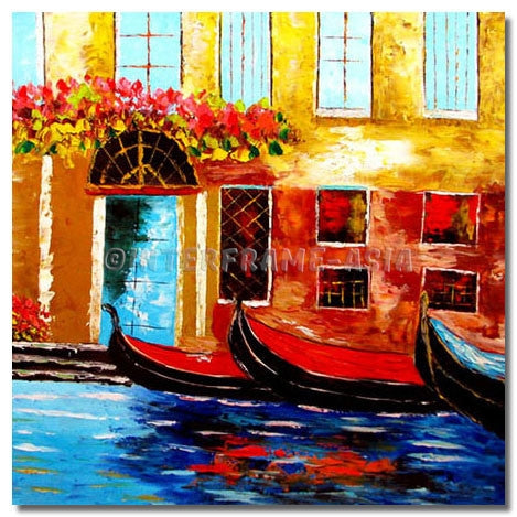 BI-216507 - Painting On Canvas at INTERFRAME-ASIA