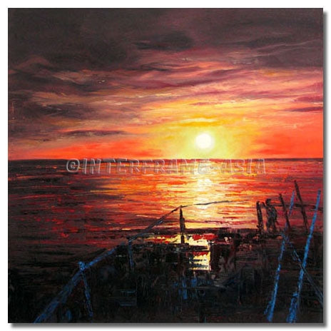 BI-486207 - Painting On Canvas at INTERFRAME-ASIA