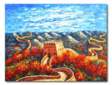 Great Wall - Painting On Canvas at INTERFRAME-ASIA
