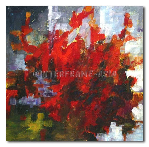 MYSTIC - Painting On Canvas at INTERFRAME-ASIA