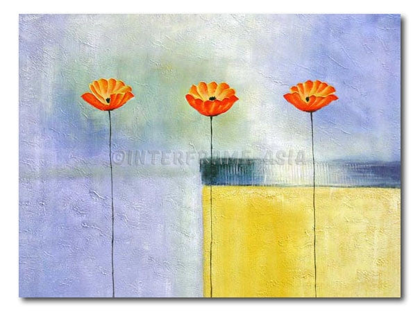 Dolce Poppies - Painting On Canvas at INTERFRAME-ASIA