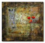 Her Flowers - Painting On Canvas at INTERFRAME-ASIA
