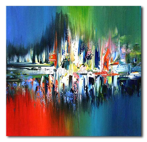 Surge of Colors - Painting On Canvas at INTERFRAME-ASIA