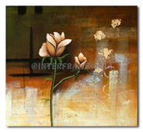 Pale Rose - Painting On Canvas at INTERFRAME-ASIA