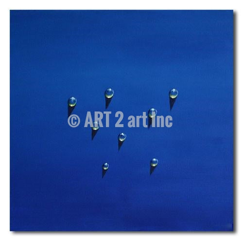 Sea Drops - Painting On Canvas at INTERFRAME-ASIA