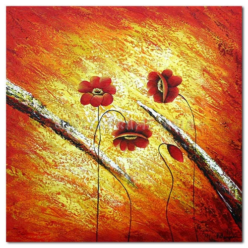 Season of Flowers - Painting On Canvas at INTERFRAME-ASIA
