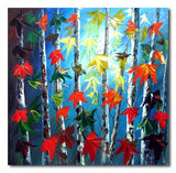 Hawthorn - Painting On Canvas at INTERFRAME-ASIA