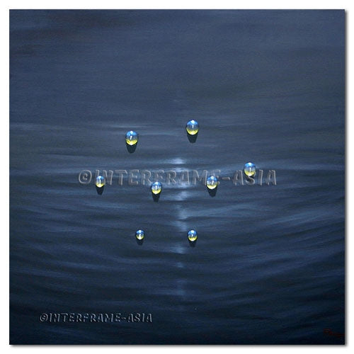 In The Calm Sea - Painting On Canvas at INTERFRAME-ASIA