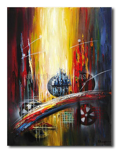 RAINBOW BRIDGE - Painting On Canvas at INTERFRAME-ASIA