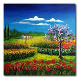 Serenity - Painting On Canvas at INTERFRAME-ASIA
