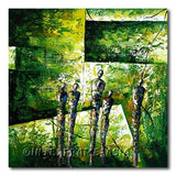 Inventing Green - Painting On Canvas at INTERFRAME-ASIA