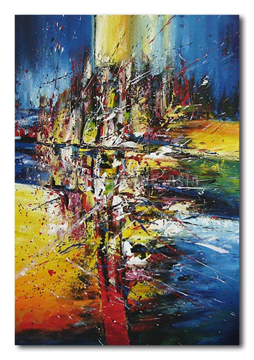 WIND IN THE CROSS - Painting On Canvas at INTERFRAME-ASIA