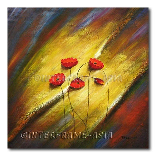 Heating - Painting On Canvas at INTERFRAME-ASIA