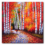 The Walk - Painting On Canvas at INTERFRAME-ASIA