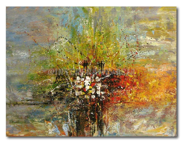 Color Cross - Painting On Canvas at INTERFRAME-ASIA